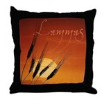 Magickal Life Lammas Throw Pillow