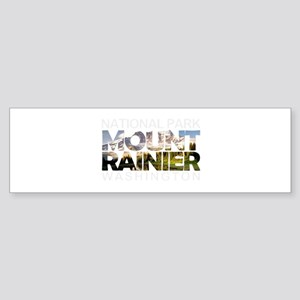 Mount Rainier - Washington Bumper Sticker