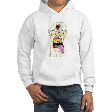 Hole in Head Hooded Sweatshirt