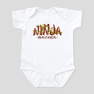 Dragon Ninja Broker Infant Bodysuit