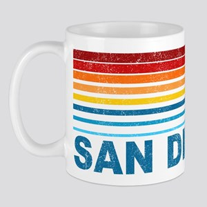 Palm Tree San Diego Mug