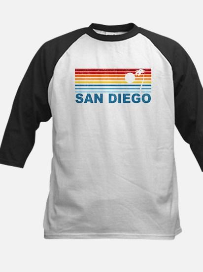 Palm Tree San Diego Kids Baseball Jersey