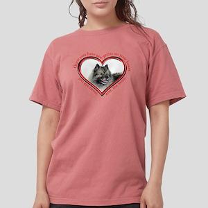 Keeshond Paw Prints T-Shirt
