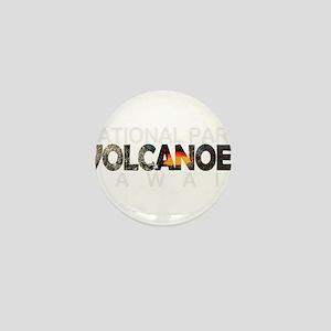 Hawaii Volcanoes - Hawaii Mini Button