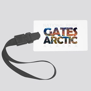 Gates of the Arctic - Alaska Large Luggage Tag