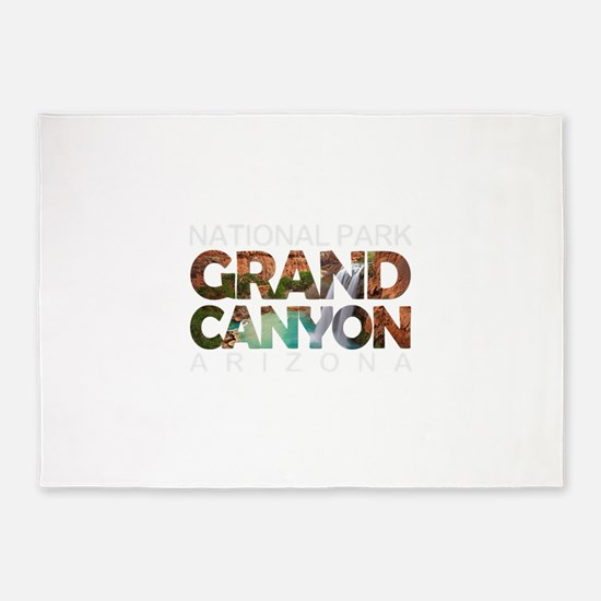 Grand Canyon - Arizona 5'x7'Area Rug