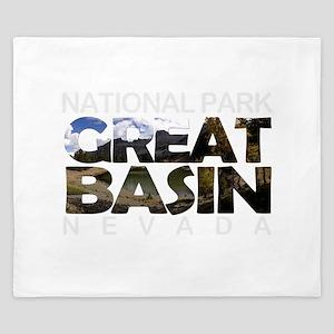 Great Basin - Nevada King Duvet