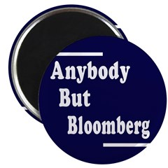 Anybody But Bloomberg (10 Magnets)