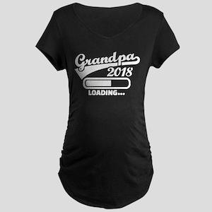 Grandpa 2018 loading Maternity T-Shirt