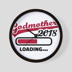 Godmother 2018 loading Wall Clock