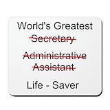 Administrative Classic Mousepad