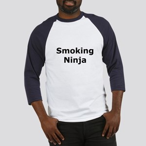 Smoking Ninja Baseball Jersey