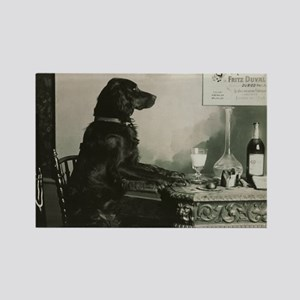 Absinthe Duval Dog Rectangle Magnet