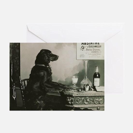 Absinthe Duval Dog Greeting Cards (Pk of 10)