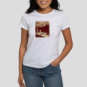 Verlaine with Absinthe Women's T-Shirt