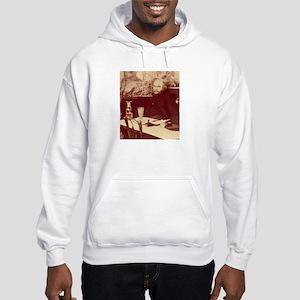Verlaine with Absinthe Hooded Sweatshirt