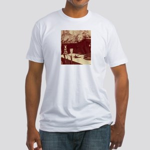 Verlaine with Absinthe Fitted T-Shirt