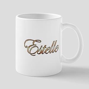 Gold Estelle Mugs
