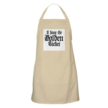 I have the golden ticket BBQ Apron