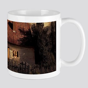 rustic western country farmhouse Mugs