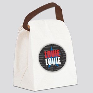Louie Louie Canvas Lunch Bag