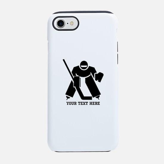 Ice Hockey Goalie iPhone 8/7 Tough Case
