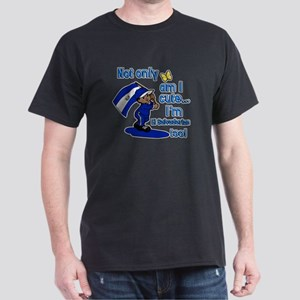 Not only am i cute I'm El Salvadorian Dark T-Shirt