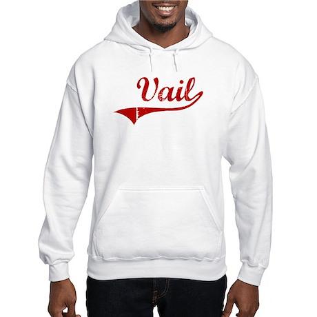 Vail (red vintage) Hooded Sweatshirt