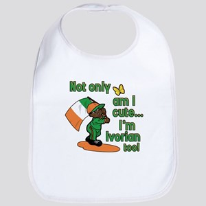 Not only am I cute I'm Ivorian too! Bib