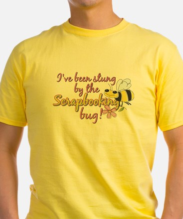 Scrapbooking Bug T-Shirt