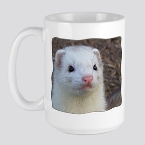 Ferret Face Large Mug