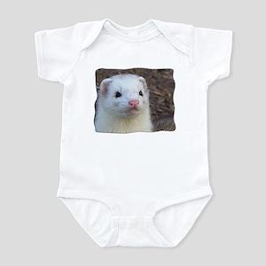 Ferret Face Infant Bodysuit