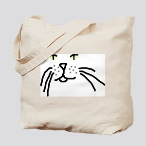 KITTY FACE: Tote Bag
