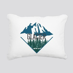 Glacier - Montana Rectangular Canvas Pillow