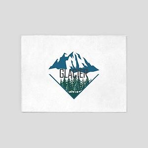 Glacier - Montana 5'x7'Area Rug