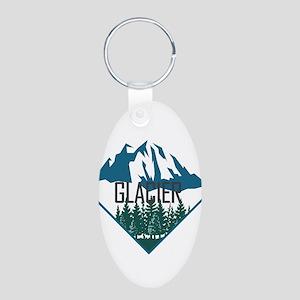 Glacier - Montana Keychains