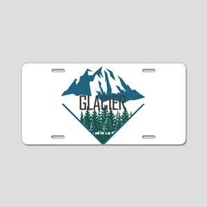 Glacier - Montana Aluminum License Plate