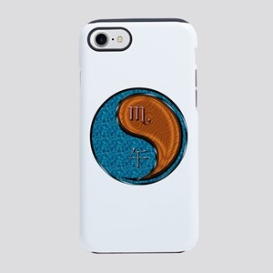 Scorpio & Wood Horse iPhone 8/7 Tough Case