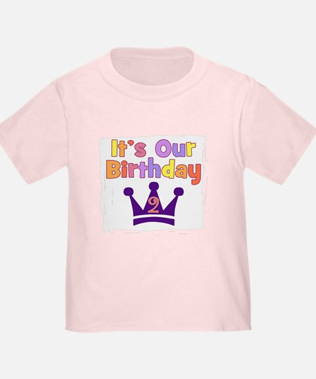 It's Our Birthday Crown (2) T