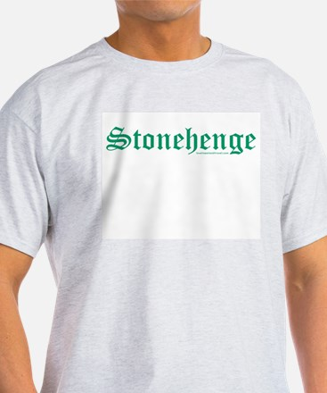 Stonehenge Green - Ash Grey T-Shirt