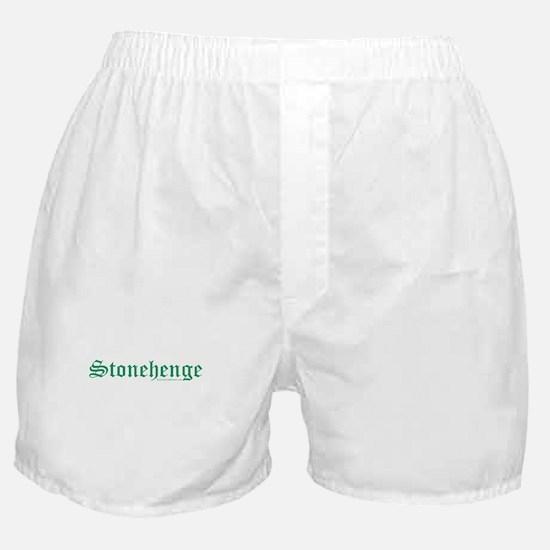 Stonehenge Green - Boxer Shorts