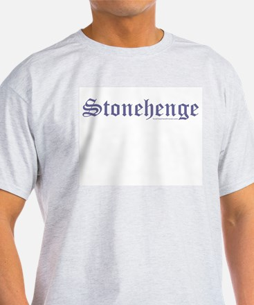 Stonehenge Blue - Ash Grey T-Shirt