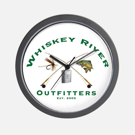 Unique Whiskey Wall Clock