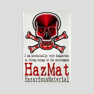 Hazardous Material - Rectangle Magnet
