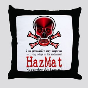 Hazardous Material - Throw Pillow
