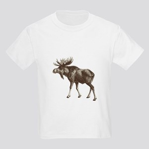 Moose-is-Loose-whtie T-Shirt