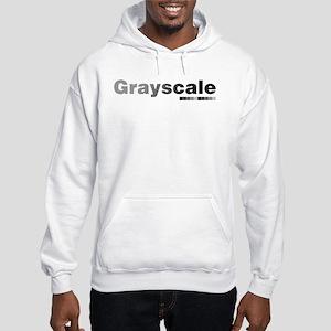 Grayscale Hooded Sweatshirt