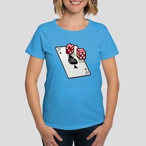 Vegas 21st Birthday Gift Women's Dark T-Shirt