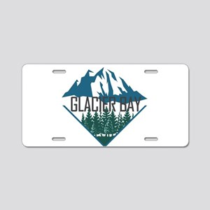 Glacier Bay - Alaska Aluminum License Plate