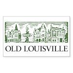 Old Louisville Rectangle Sticker 50 Pk)